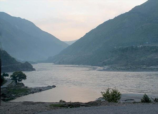 Вечер в долине Инда
