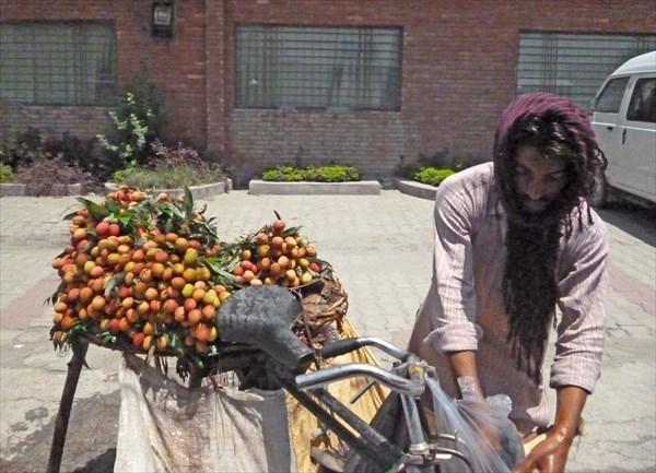 Продавец фруктов ли-чи