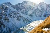 `Семерка` вид с Чегета. Внизу - ледник Донгузорун