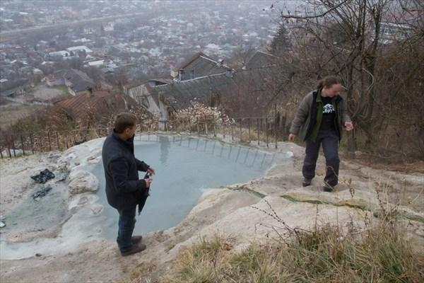 Бесстыжие ванны на склоне горы. Пятигорск