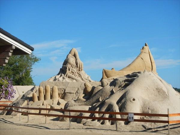 Лаппеенранта, песчаные фигуры