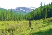 Вверх по долине, к перевалу Орой