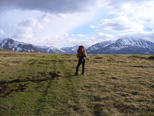 На перевале Орой