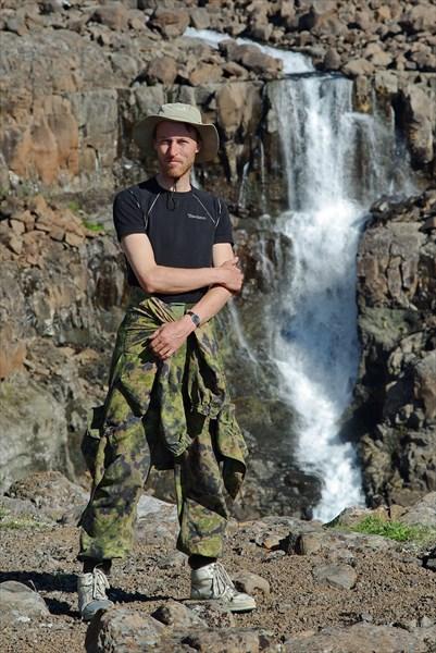 Водопад правого истока Геологической