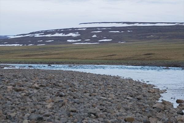 Хонна-Макит в среднем течении перед началом каскада шивер