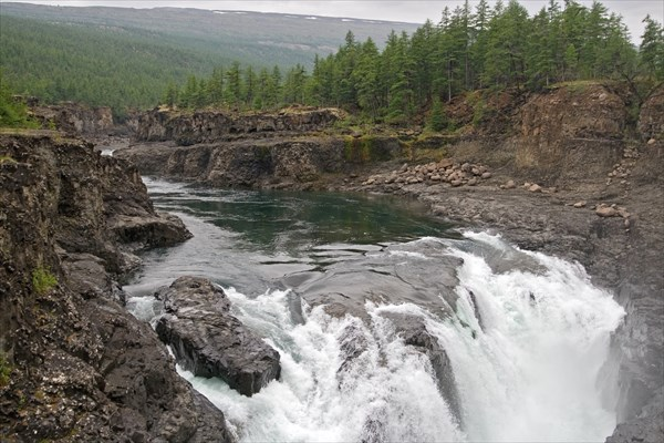 Бьеф второго водопада