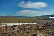 Впереди - долина Хонна-Макита