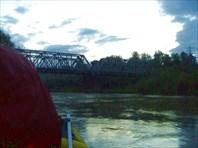 Мост железнодорожный.