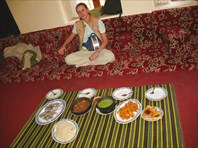 обед в горах Хараз