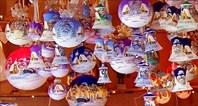 Рождественская ярмарка ёлочных игрущек