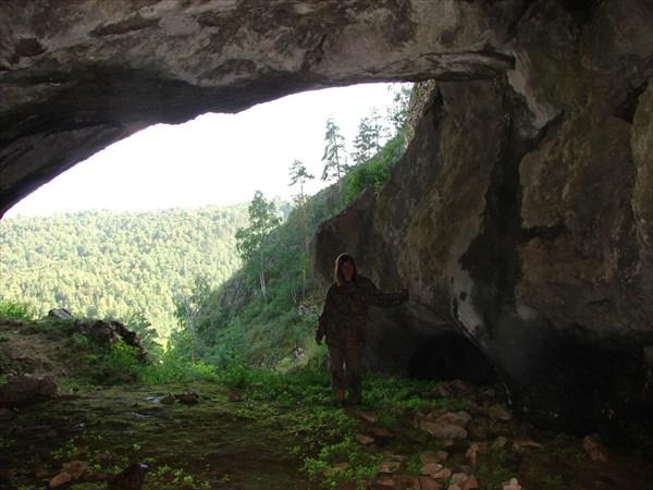 Пещера космонавтов...