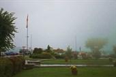 Охрид в тумане