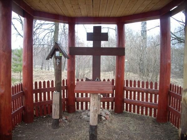 Часовня на кладбище в деревне Успенье