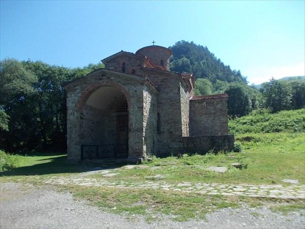 Северный храм в Нижне-Архызском городище