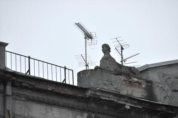 Сфинкс на крыше