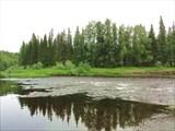 Граница бурной воды