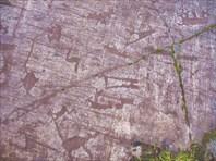 Кусочек самих беломорских петроглифов-Беломорские петроглифы
