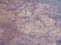 Еще кусочек из тех, что получше видно-Беломорские петроглифы