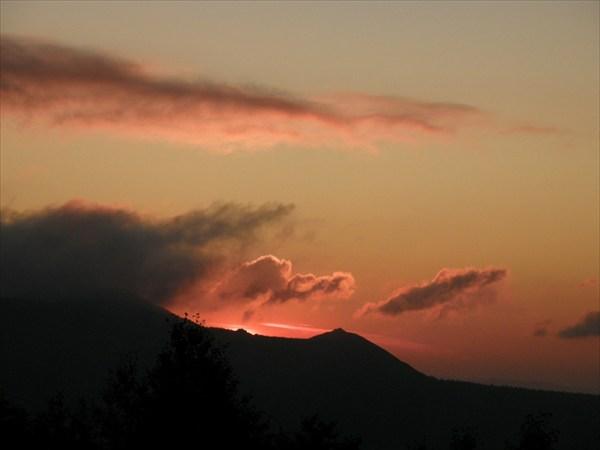 Восход над Машаком