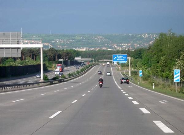 Автобан. Германия