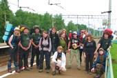 Группа Клуба АТО после ПВД в Подмосковье