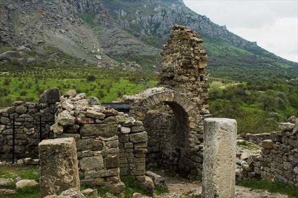 Останки крепости Фуна.