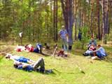 Река Гусь. Май, 2008. Недалеко от турбазы завода «Символ».