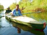 Река Гусь. Май, 2008. Иногда можно просто подрейфовать