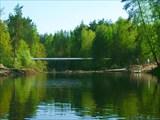 Река Гусь. Май, 2008. Спонсор сюрприза - Российский Газпром.