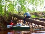 Река Гусь. Май, 2008. Каждому свое.