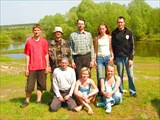Река Гусь. Май, 2008. Все живы, здоровы и довольны.