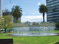 Сад рядом с Парламентом.