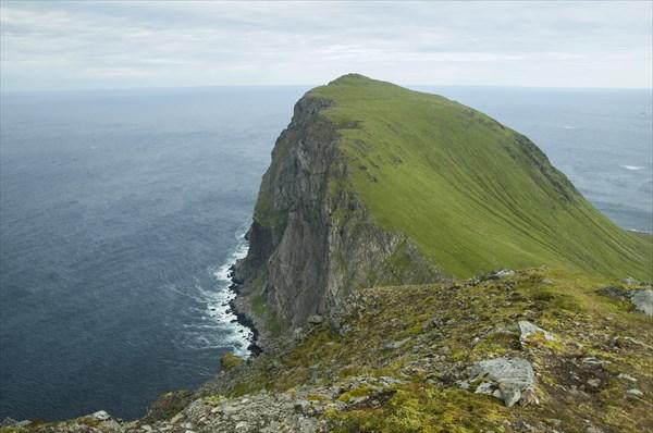 Вид с вершины Ryten