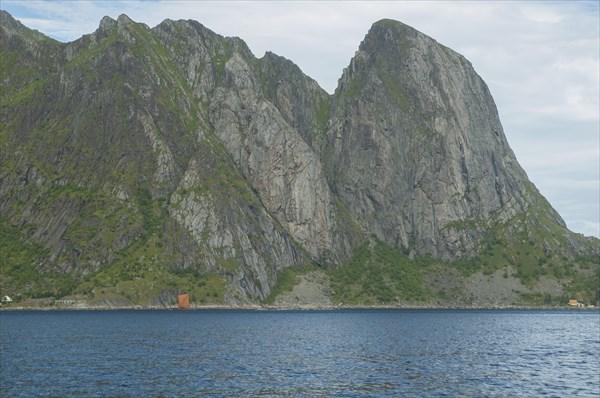 На корабле в Reinefjorden