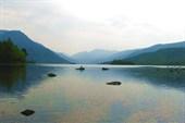 Фото 8. Вид на озеро Фролиха днем, с берега залива Окуневый