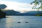 Фото 17. Восход на озере Фролиха