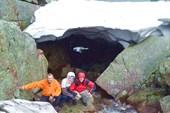 Снежник у озера Горных Духов