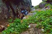 Спуск с перевала Тайгыш-2
