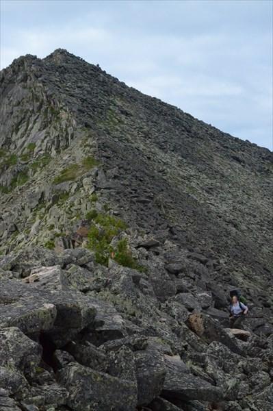Траверс вершины Перевальная