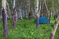 Ночёвка в устье Кызыларайских гор