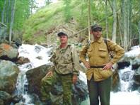 Сплав по Жомболоку. Ларюшин. Июль 2006.