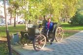На центральном бульваре Новороссийска