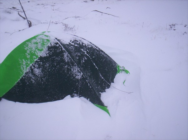 Кто сказал, что снега на Алтае мало?