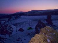 Лагерь на рассвете