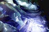 Кристаллы в штольне