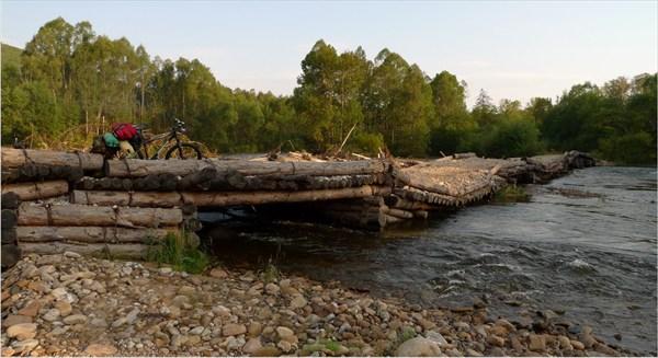 Периодически смываемый мост через р.Бол.Каменушка