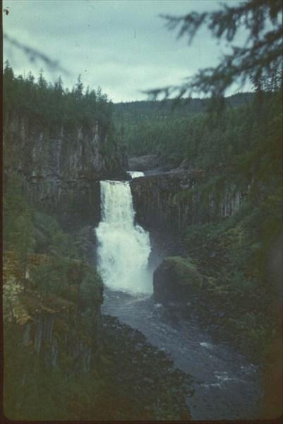 водопад на р.Ядун (07.08)