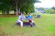 В парке на набережной Окленда