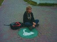 Я с кошкой-город Вологда