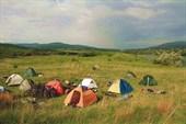 Лагерь велотуристов